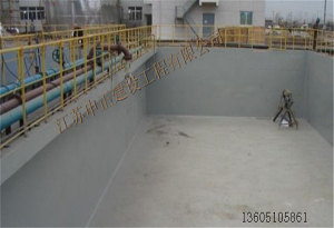 电厂污水池聚脲防水